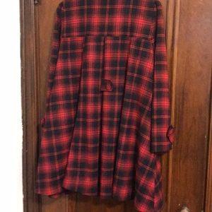 Chicwish Jackets & Coats - Adorable plaid swing coat